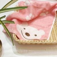 竹千维儿童毛巾卡通纯棉小毛巾可爱手巾竹纤维手巾竹炭纤维洗脸巾 28x48cm