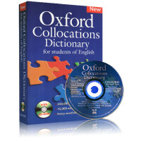 (300减100)Oxford Collocations Dictionary of English 牛津英语搭配词典 英文原版 附CD 英英辞典