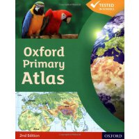 英文原版 Oxford Primary Atlas