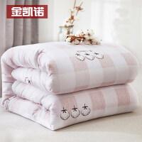 纯棉花被芯春秋被絮新疆全棉花被子单人加厚保暖冬被10斤棉被棉絮