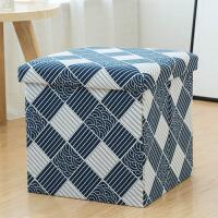 收纳凳 多功能凳子储物凳可坐 折叠椅子家用沙发换鞋凳整理盒箱抖音同款