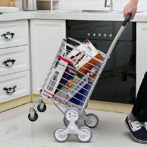 【缺货下架】ORZ 家用可折叠买菜车 老年人购物车爬楼梯铝合金手拉车菜篮子拖车