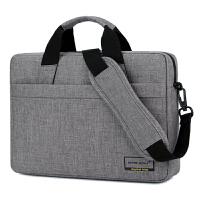 电脑包手提男时尚韩版简约单肩15.6寸14笔记本包