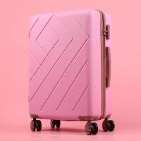 行李箱女拉杆箱韩版小清新万向轮皮箱旅行箱个性大学生密码箱20寸