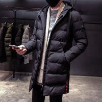 冬季棉衣士中长款装衣服修身帅气羽绒潮流冬装棉袄子