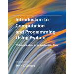 Introduction to Computation and Programming Using Python 英文