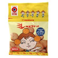日本零食野村米乐儿童粗粮小饼干 4连包 儿童磨牙饼干进口零食品