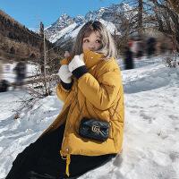 №【2019新款】女式羽绒服短款胖MM大码女装女瘦冬装外套加厚韩版宽松