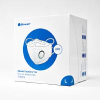 瑞典布鲁雅尔(Blueair)防尘透气口罩防雾霾PM2.5口罩 【10只装】L码-适合男性