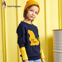 【3件3折:87元】暇步士童装儿童毛衣2020春秋新款男童线衣针织衫