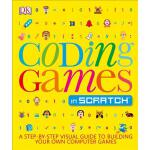 Coding Games in Scratch 英文原版 儿童编程:用Scratch写游戏 DK出版