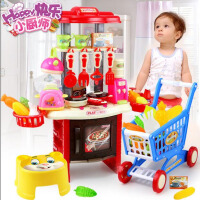 【支持礼品卡】厨房玩具做饭厨具餐具套装过家家玩具 儿童玩具女孩男孩5la