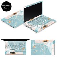 戴尔灵越 14-5000 5448 5447笔记本电脑外壳贴膜贴纸15寸14免裁剪 SC-917 ABC三面
