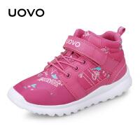 【每满100立减50】 UOVO儿童运动鞋男童运动鞋2018新款女童运动鞋中大童休闲鞋 纳木错
