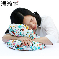 抱枕午睡枕办公室趴睡枕午睡神器学生趴趴枕三合一两用枕头