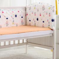 定做婴儿床上用品纯棉宝宝床围床单被套件秋冬新生儿床围帏防撞