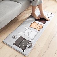 短绒毛卧室床边垫阳台地毯脚垫厨房防滑垫地垫