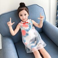 童装女童夏装裙子小女孩连衣裙儿童夏季中大童洋气公主裙