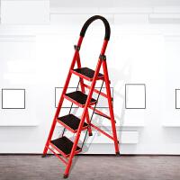 【支持礼品卡】梯子家用折叠梯加厚室内人字梯移动楼梯伸缩梯步梯多功能扶梯 o9i