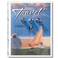 包邮英文原版 20th Century Travel 20世纪旅行旅游复古海报绘画插画设计 海报设计 艺术绘画书籍