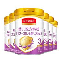 伊利 金领冠菁护(呵护)幼儿奶粉 3段 900g 6桶