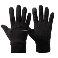 户外保暖手套男冬季触屏加绒防风防水骑行运动开车登山防滑手套女 均码