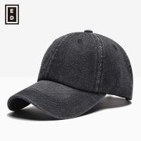 20180713173244909秋冬天户外牛仔棒球帽子批发男士鸭舌帽纯色遮阳帽子女厂家直销