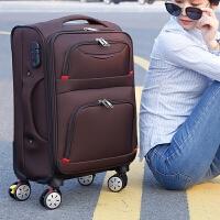 牛津布拉杆箱包男24寸行李箱女22旅行箱子20登机箱密码箱托运软箱