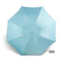 太阳伞蕾丝小花伞折叠两用晴雨伞淑女公主伞黑胶遮阳伞雨伞