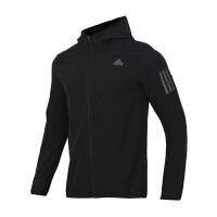 Adidas阿迪达斯 男装 跑步运动休闲训练夹克外套 CY5776