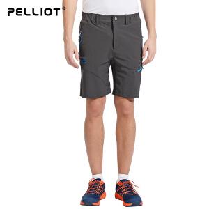 【保暖节-狂欢继续】法国PELLIOT/伯希和 户外速干短裤男 透气排汗运动短裤徒步休闲快干短裤