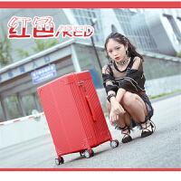 新款男士拉杆箱韩版大容量外出休闲旅行箱静音万向轮行李箱24英寸出国登机箱商务手提箱
