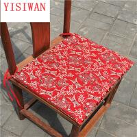中式古典红木椅子圈椅官帽椅坐垫实木家具餐桌椅太师椅定制