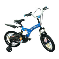 【当当自营】儿童自行车男女表演车14寸16寸18寸学生车 山地车学生车好孩子必备品 小酷熊14寸蓝色