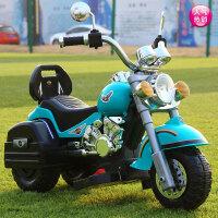 可坐人女男孩可充电小孩遥控车儿童电动摩托车三轮车小宝宝玩具车