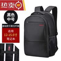 电脑包双肩包男女士笔记本电脑包15.6寸14寸17.3商务防盗电脑背包SN2627