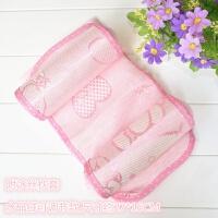 婴儿枕头0-1岁新生儿童纠正偏头防偏头3-6个月宝宝头型定型枕 +冰丝枕套