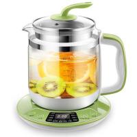 全自动多功能玻璃电热烧水壶养生壶花茶壶黑茶煮茶器 绿色