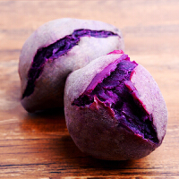 越南进口珍珠小紫薯5斤包邮【2500g】软糯香甜粉面可口新鲜紫薯
