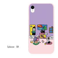 iphone7苹果6s手机壳6plus硅胶全包软壳5s情侣女款8X防摔挂绳外壳