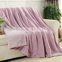 新生儿童婴儿毛毯双层加厚秋冬季幼儿园宝宝珊瑚绒小毛毯被子云毯