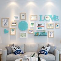 客厅照片墙装饰相框创意个性挂墙组合套装卧室相片背景墙一面墙