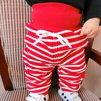 女婴儿秋装裤子男宝宝加厚打底裤1岁3个月新生儿长裤秋季冬装棉裤