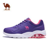 骆驼运动鞋女 跑步鞋新款秋冬减震气垫跑鞋透气轻便休闲鞋子