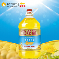 【苏宁超市】金龙鱼 葵花籽 清香型 食用调和油 5L