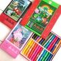 儿童蜡笔安全无毒可水洗画笔旋转美图乐蜡笔36色套装幼儿园油画棒