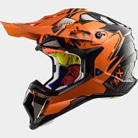 越野摩托车头盔MX470新款ATV速降MX越野盔机车四季盔可配风镜