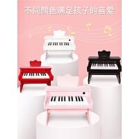 宝宝启蒙音乐玩具儿童电子琴女孩木制小钢琴初学者1-3-6岁