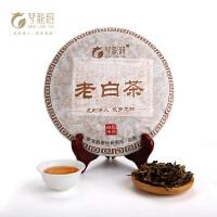 【宁德馆】梦龙韵老白茶 福鼎白茶 茶饼 老树白茶叶350g