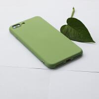 抹茶绿手机壳苹果xr液态硅胶iphonexsmax纯色7全包6s软8plus防摔x